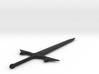 Elvish Sword 3d printed