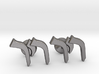 "Hebrew Monogram Cufflinks - ""Reish Yud Reish"" 3d printed"