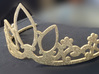 Rapunzel's Tiara 3d printed Gold Spraypaint added