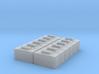 1:87 Trout transportboxes - Fischtransportboxen 3d printed