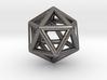 0601 Icosahedron E (a=10mm) #001 3d printed