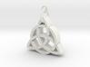 CelticKnot necklace 3d printed