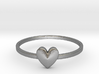 Heart Gem (size 4-13) 3d printed
