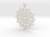 12 pointed star pendant 3d printed