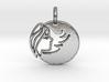 Astrology Zodiac Virgo Sign 3d printed Astrology Zodiac Virgo Sign in silver is shining.