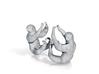 Sloth Ear Cuffs 3d printed