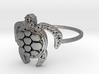 Sea Turtle Ring 3d printed