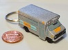 Simmer Milwaukee Food Truck Keychain 3d printed Printed in WSF and painted in acrylic.