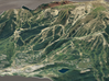 Snowmass, Colorado, USA, 1:25000 3d printed