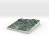 Sugarloaf Mtn, Maine, USA, 1:25000 3d printed