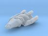 Hirogen Hunter Ship 1/7000 3d printed