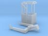 1:50 Man basket for mini crawler crane  3d printed