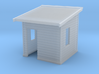 HO NSWR 'Cheap' Platform Level Signal Box 3d printed