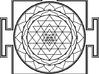3D Sri Yantra Symmetrical 3d printed