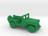 1/144 Scale MB Jeep 3d printed