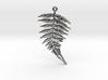 Fern Leaf Pendant 3d printed