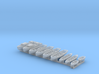 1/500 WW2 RN Boat Set 1 with Mounts 3d printed 1/500 Royal Navy WW2 Boat Set 1 with Mounts