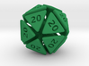 The D20 of Evil 3d printed