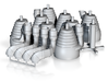 H-1 Engines (1:48 Saturn IB) SA-203 - SA-210 3d printed
