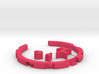 Puzzle Wristband 3d printed