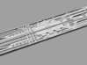 1/2256 Ventral Trench for Revell Venator 3d printed