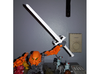 Sword Of Omens: Bionicle Edition 3d printed