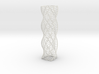 Curved Wire Spiral Square Shape S 3d printed