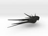Shadow Carrier v1 (Babylon 5), 1/14K 3d printed
