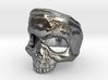 SkullRing 3d printed