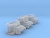 440 6Pak Carbs 1/18 3d printed