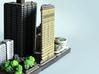 Flatiron Building New York 4 x 4 3d printed miniature flatiron building