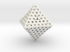 Holey Octahedron 3d printed