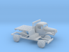 1/160 1945-50 Dodge Power Wagon Flat Bed 3d printed