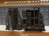 N-scale Door And Guide Car 3d printed Oven side of the door and guide cars