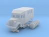 Austin K2 (Bellewagen busje) scale 1:120 3d printed