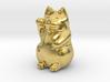 Maneki Neko tiny polished version 3d printed