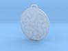 Merida's Celtic Bear Pendant/Keyring 3d printed