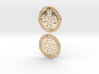 Symbol Of Creation Earring Pair Aztec 3d printed