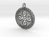 Symbol of Creation Pendant Aztec 3d printed