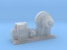 1/96 IJN Electric Deck Winch 3d printed