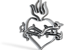 Heart 2 3d printed