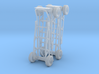 1/35 scale handcart / dolly 3d printed
