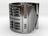 Dr. Who Tardis Overturned Ring 3d printed