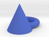 Blue angle 3d printed