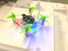 Mini Drone Frame for Eachine E010 - Faster, Strong 3d printed SpaceFrame with electronics installed