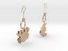 Earrings 3d printed