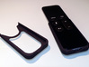 Apple TV, Siri Remote, Slim Skin 3d printed Simple skin attaches to the back of the remote