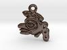 Aztec Monkey Pendant 3d printed