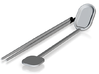 spoon chopsticks .stl 3d printed