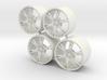 Set Wheels 6 Sporz² for Aoshima Aventador 3d printed
